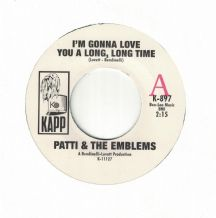 Pattie & The Emblems - I/m Gonna Love You A Long, Long Time c/w Mixed Up, Shook Up, Girl